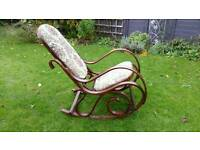 70's VINTAGE BENTWOOD ROCKING CHAIR