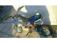 Mini moto pit dirt bike 50cc RUNNER
