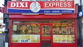 Established DIXI CHICKEN TAKEAWAY for sale in excellent location Birmingham/Smethwick