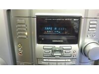 Sony HCD-RG110 Compact Disc, Cassette & Tuner with Remote Control
