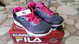 Fila Junior trainers size 4 (brand new)