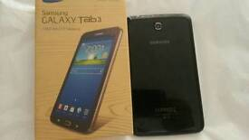 Samsung galaxy tab 3 7.0 inch wifi with box in very good condition