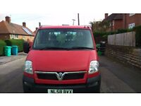 vauxhall movano 2.5 cdti tipper with 6 x gears 61000 miles on clock recent mot and service