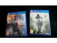Call of duty, battlefield 1... £15 for both