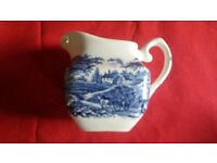 English ironstone tableware creamer/milk jug