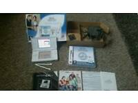 Nintendo ds lite with brain training game