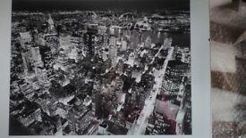 New York city prints x 3