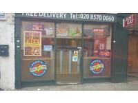 Franchise Pizza shop for sale, Hounslow