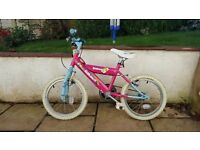 "Girls Raleigh Sunshine 16"" bike"
