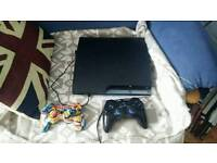 Ps3 and 18 games 2 controllers