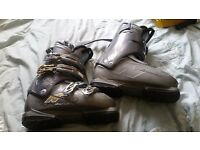 Selling my nordica one S flex index 60 size 6 (25/25.5) ski boots