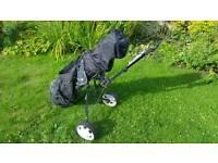 Used Golf Clubs, Bag & Trolley