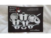 AUTHENTIC MASTER COOKING NOVA LINE 12 PIECE PAN SET