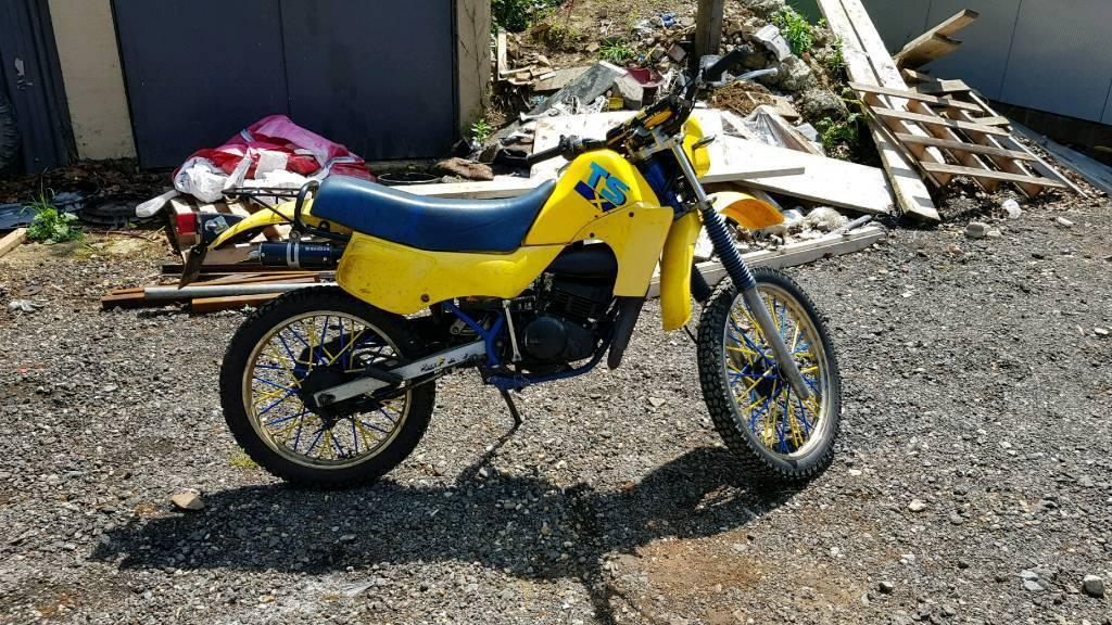 Suzuki Ts50x 50cc Road Legal Dirt Bike Field Bike Off Road In