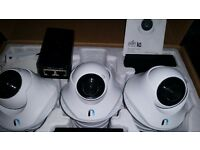 * CCTV * Ubiquiti UniFi 720p Video Camera Dome with Mic, Night vision (3 Pack)