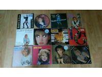 12 x debbie gibson vinyl singles picture disc / poster sleeve /