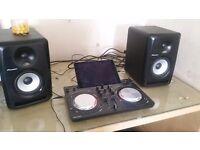Pioneer dj controller with speakers