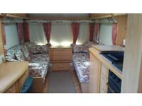 SWIFT CORNICHE 15/2E 1999 NO DAMP VGC FULL AWNING 2 GAS BOTTLES READY TO GO EVERYTHING INCLUDED