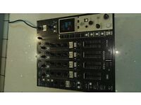 Denon-DNX1600 pro audio 4 channel DJ Mixer VGC