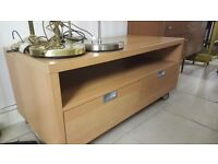 Light wood TV unit - Good condition