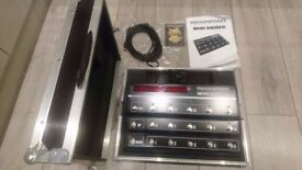 Rocktron Midi Raider control pedal and flight case