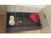 new large rabbit guinea pig cage