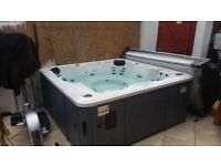 Canadian Spa Hot Tub 6 seater with no float lounger