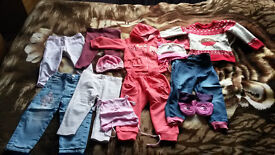 Girl's clothes for sale 1-2 years