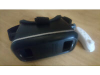 3D VR Glasses with Bluetooth controller