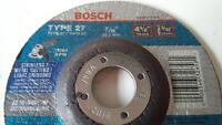 "NEW - Bosch 4 1/2"" x 3/32"" x 7/8"" metal cutting discs"