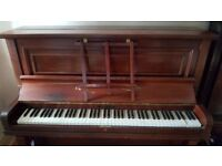 Free John Brinsmead Piano. Playable but half a tone out!