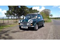 Mini - Mini Cooper 1.3 Classic, 1995 British Racing Green, MOT June 2018, leather interior