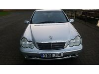 Mercedes-Benz C Class, Excellent condition, very clean, Long MOT, taxed, drives like new, 6 Speed