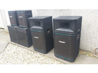 Band PA Speakers For Sale - £50 The Lot!