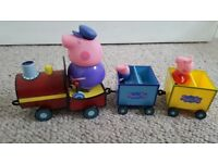 Grandpa pig train (peppa pig)