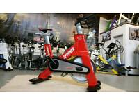 STAR TRAC NXT SPINNING BIKE REFURBISHED IN RED
