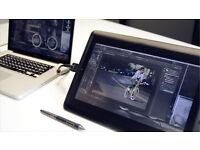 Wacom Cintiq Companion Hybrid Graphics Tablet and Android Tablet