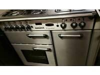Range master 90cm dual fuel range cooker