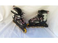 Junior Roller Blades. Adjustable uk size 13(J) to 3(L)