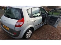 2004 RENAULT SCENIC 1.6 PETROL LOW MILES FULL MOT WITH WARRANTY INCLUDED