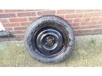14 inch rim and brand new mitchellen tyre