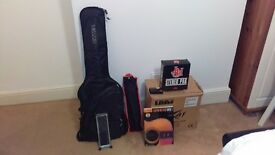 Yamaha Pacifica Electric Guitar with Peavey Amp