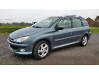 Swap Peugeot 206 1.6 Diesel Estate For MPV/Van.