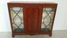 Attractive Solid Mahogany China Cabinet
