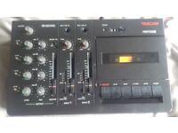 Tascam Porta 03 Ministudio, 4-track cassette/tape recorder, fully working