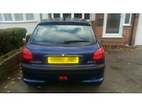 206 HDI Turbo. Starts and drives. No MOT or Tax. Spare or Repair