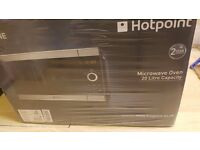 Hotpoint HD Line MWH2021X 20 Litre Microwave - Stainless Steel / Black