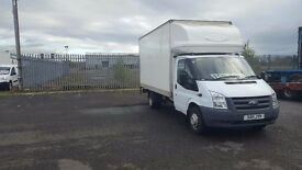 stunning 2011-11 plate ford transit 350-115 ext frame 13ft luton tailift very low miles