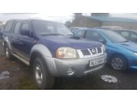 2004 NISSAN X-TRAIL 2.5 DIESEL BREAKING FOR PARTS ONLY POSTAGE AVAILABLE NATIONWIDE