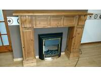 Fire place surround wood